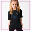 Basic-Tshirt-on-pointe-performing-arts-center-glitterstarz-custom-rhinestone-bling-shirts-and-apparel