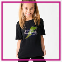 Basic-Tshirt-steppin-out-dance-center-glitterstarz-custom-rhinestone-bling-shirts-and-apparel
