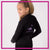 716 Dance Lab Bling Cadet Jacket with Rhinestone Logo