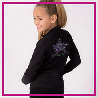 Pacific Beach High Desert Bling Cadet Jacket with Rhinestone Logo