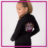 CADET-JACKET-Sparkle-glitterstarz-custom-rhinestone-bling-team-apparel