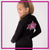 Alpha Athletics Bling Cadet Jacket with Rhinestone Logo