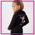 Ballet Academy of Moses Lake Bling Cadet Jacket with Rhinestone Logo