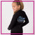 Blizz Allstar Cheerleading Bling Cadet Jacket with Rhinestone Logo