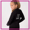 CADET-JACKET-cjb-glitterstarz-custom-rhinestone-bling-team-apparel