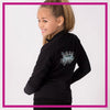 CYSC Elite Force Bling Cadet Jacket with Rhinestone Logo