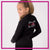 Extreme Kids Dance Academy Bling Cadet Jacket with Rhinestone Logo