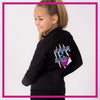 CADET-JACKET-fear-the-bow-glitterstarz-custom-rhinestone-bling-team-apparel
