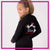 Lisa's Dance Boutique Bling Cadet Jacket with Rhinestone Logo