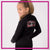 Mia's Elite School of Dance Bling Cadet Jacket with Rhinestone Logo
