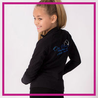 CADET-JACKET-on-pointe-performing-arts-center-glitterstarz-custom-rhinestone-bling-team-apparel