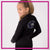Shore Thunder Starz Cheer and Dance Bling Cadet Jacket with Rhinestone Logo
