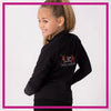 Take the Floor Dance Academy Bling Cadet Jacket with Rhinestone Logo