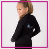 Ignite Bling Cadet Jacket with Rhinestone Logo