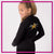 Top Notch Dance Company Bling Cadet Jacket with Rhinestone Logo