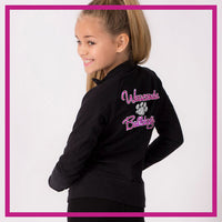 CADET-JACKET-wauconda-bulldogs-glitterstarz-custom-rhinestone-bling-team-apparel
