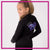 Wild Allstars Bling Cadet Jacket with Rhinestone Logo