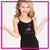 716 Dance Lab Bling Cami Tank Top with Rhinestone Logo