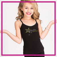 CAMI-TANK-Hot-Topic-custom-rhinestone-bling-tank-tops-rhinestone-logo