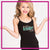 Arizona Element Elite Bling Cami Tank Top with Rhinestone Logo