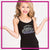 Cheer Obsession Cami Tank Top with Rhinestone Logo