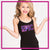 Epic Allstars Bling Cami Tank Top with Rhinestone Logo