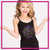 Ever After Dance Academy Bling Cami Tank Top with Rhinestone Logo