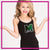 Marshfield Rams Bling Cami Tank Top with Rhinestone Logo