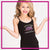 Melissa Marie School of Dance Bling Cami Tank Top with Rhinestone Logo
