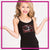 Mia's Elite School of Dance Bling Cami Tank Top with Rhinestone Logo