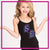 Spirit Explosion SE Bling Cami Tank Top with Rhinestone Logo