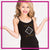 The F.I.R.M. Dance Company Bling Cami Tank Top with Rhinestone Logo