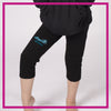 ROLLOVER-CAPRI-LEGGINGS-Inspire-GlitterStarz-Custom-Rhineston-Capri-Leggings-with-Bling-Team-Logo-Cheerleading-Dance