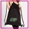 Buffalo Envy Rhinestone Cinch Bag with Bling Logo (Black)