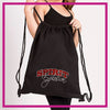 CINCH-BAG-spirit-explosion-script--GlitterStarz-custom-rhinestone-bags-and-backpacks-for-cheer-and-dance