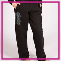 Ellenwood Allstars Bling SweatPants with Rhinestone Logo