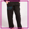 NYTBC Bling Comfy Sweats with Rhinestone Logo