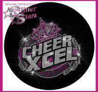 Cheer Xcel Bling Fleece Jacket with New Rhinestone Logo