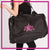 Alpha Athletics Bling Duffel Bag with Rhinestone Logo