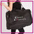 Dance Dynamics Bling Duffel Bag with Rhinestone Logo