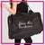 Extreme Kids Dance Academy Bling Duffel Bag with Rhinestone Logo