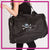 Outlaw Cheer Bling Duffel Bag with Rhinestone Logo
