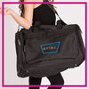 NYTBC Bling Duffel Bag with Rhinestone Logo