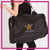 Top Notch Dance Company Bling Duffel Bag with Rhinestone Logo