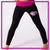 GlitterStarz GlitterGirl Fashion Bling Everyday Essential Leggings with Rhinestone Logo