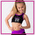 212 Elite Cheer Everyday Essential Sports Bra with Rhinestone Logo