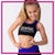Empire Dance Productions Everyday Essential Sports Bra with Rhinestone Logo