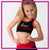 Lisa's Dance Boutique  Everyday Essential Sports Bra with Rhinestone Logo