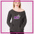 RCA Bling Favorite Comfy Sweatshirt with Rhinestone Logo