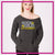 Rock Solid Academy Bling Favorite Comfy Sweatshirt with Rhinestone Logo